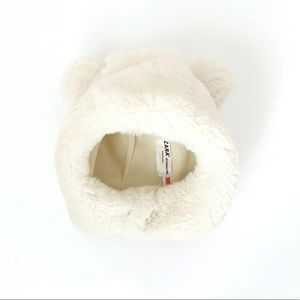Zara Baby furry bear hat